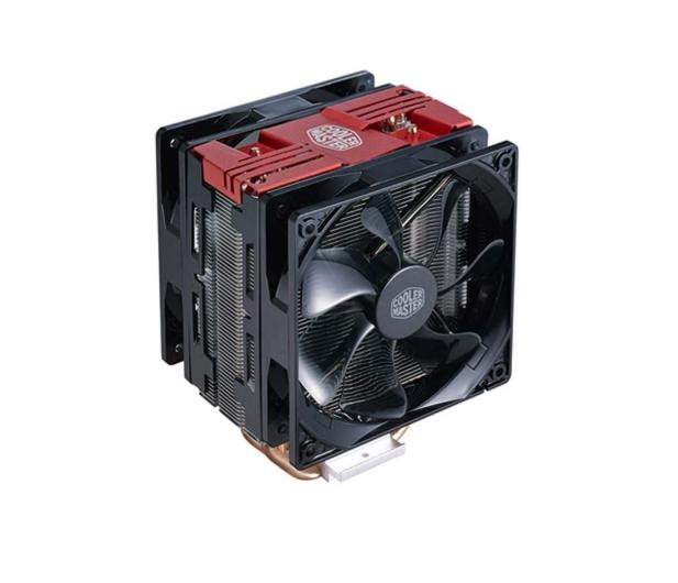 Cooler Master Hyper 212 Turbo czerwony 120mm - 390056 - zdjęcie
