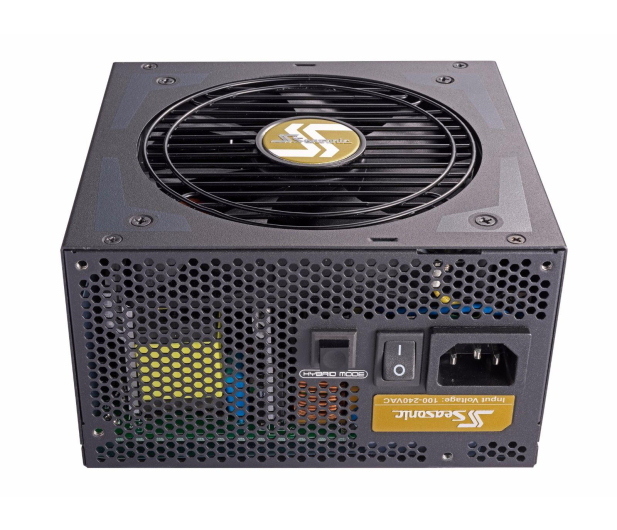 Seasonic 550W Focus Plus 80 Plus Gold BOX - 399267 - zdjęcie 2