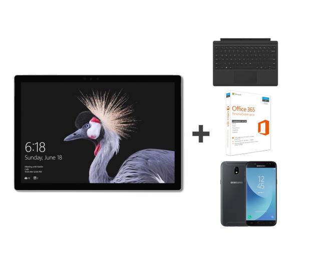 Microsoft Surface Pro m3/4/128/Win10P+J5 2017+klaw+Office - 399319 - zdjęcie