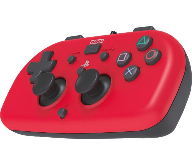 Hori PS4 HORIPAD Mini Czerwony - 396364 - zdjęcie