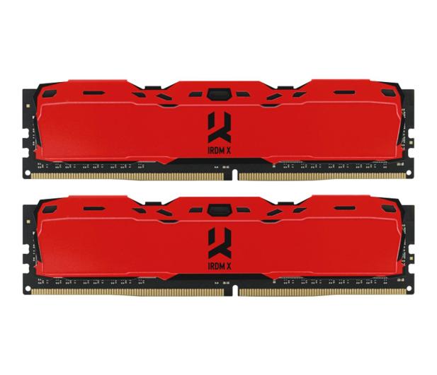 GOODRAM 16GB (2x8GB) 3000MHz CL16 IRDM X Red  - 395474 - zdjęcie