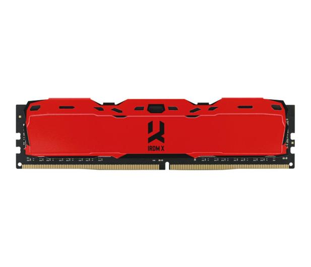 GOODRAM 8GB 3000MHz IRDM X Red CL16 - 395473 - zdjęcie