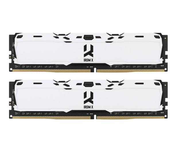 GOODRAM 16GB (2x8GB) 3000MHz CL16 IRDM X White  - 395478 - zdjęcie