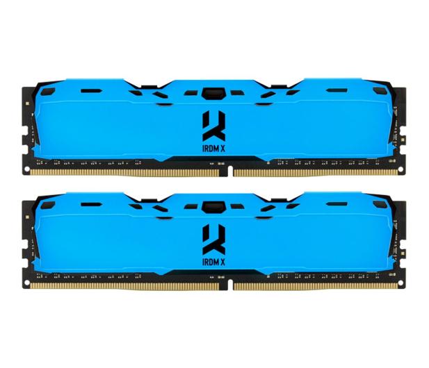 GOODRAM 16GB 3000MHz IRDM X Blue CL16 (2x8GB) - 395476 - zdjęcie