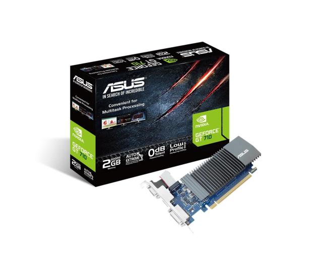 ASUS GeForce GT710 2048MB 64bit Silent LowProfile  - 396422 - zdjęcie