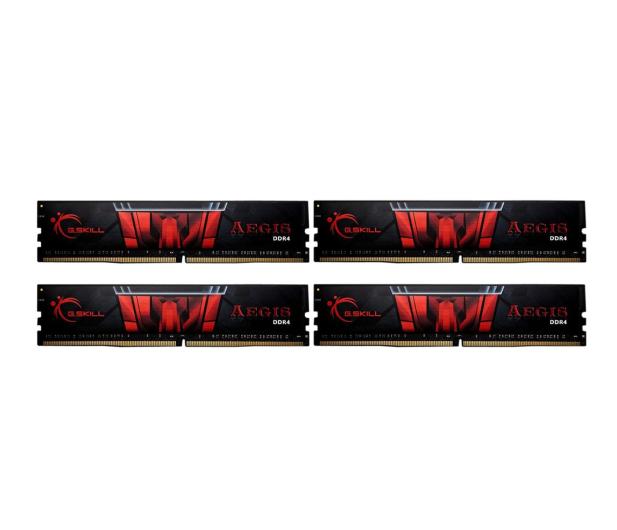 G.SKILL 32GB (4x8GB) 2400MHz CL15 Aegis  - 464359 - zdjęcie