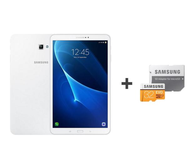 Samsung Galaxy Tab A 10.1 T585 32GB LTE biały + 32GB - 402666 - zdjęcie