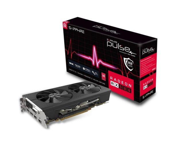 Sapphire Radeon RX 580 PULSE 8GB GDDR5  - 364467 - zdjęcie