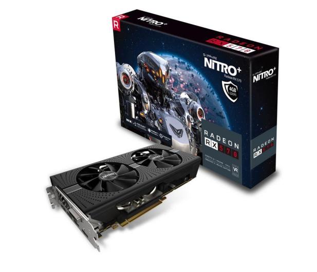 Sapphire Radeon RX 570 NITRO+ 4GB GDDR5  - 364471 - zdjęcie