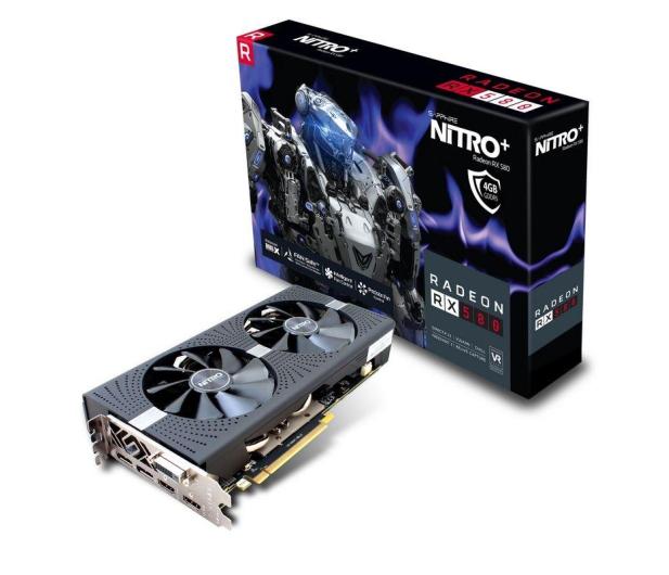 Sapphire Radeon RX 580 NITRO+ 4 GB GDDR5  - 364468 - zdjęcie