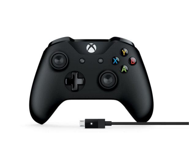 Microsoft Pad XBOX One Wireless Controller + kabel PC - 364449 - zdjęcie 3