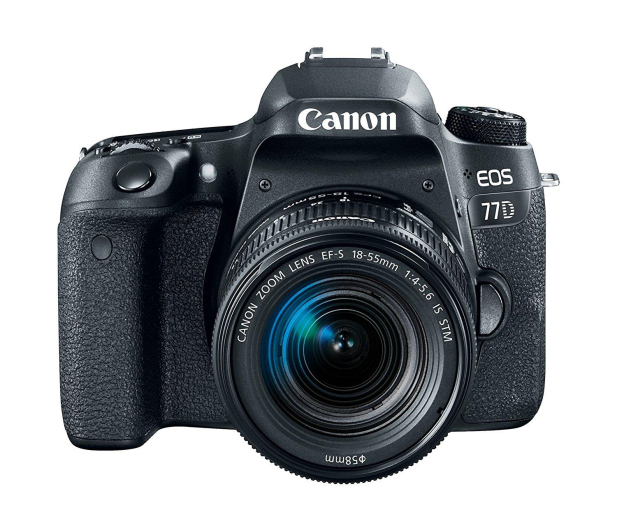 Canon EOS 77D 18-55 mm f4-5,6 IS STM - 364203 - zdjęcie 3