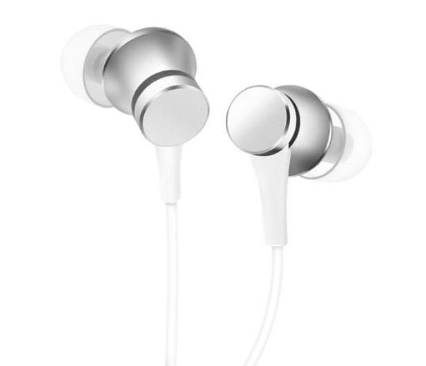 Xiaomi Mi Piston Headphone Basic (srebrne) - 362891 - zdjęcie