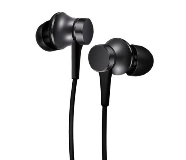 Xiaomi Mi Piston Headphone Basic (czarne) - 362887 - zdjęcie