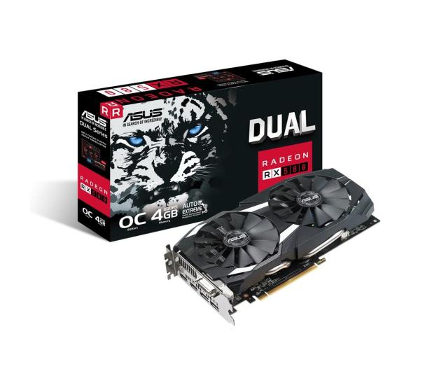 ASUS Radeon RX 580 Dual OC 4GB GDDR5 - 365398 - zdjęcie