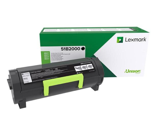 Lexmark black 2500 str.  - 358918 - zdjęcie