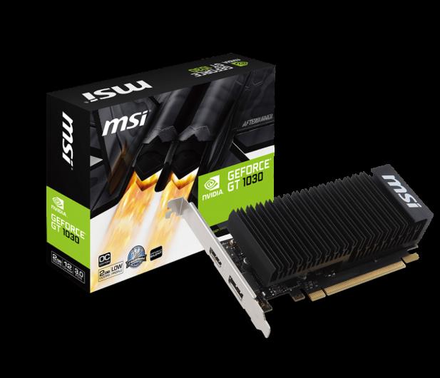 MSI GeForce GT 1030 2GH LP OC 2GB GDDR5 - 365801 - zdjęcie