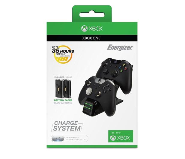 PDP Xbox Energizer 2X Ładowarka do Padów - Czarna - 365831 - zdjęcie