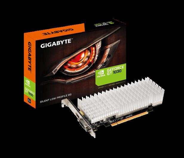 Gigabyte GeForce GT 1030 SILENT LP 2GB GDDR5 - 366574 - zdjęcie