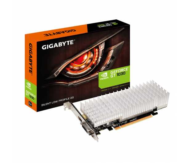 Gigabyte GeForce GT 1030 Silent Low Profile 2GB GDDR5 - 366574 - zdjęcie