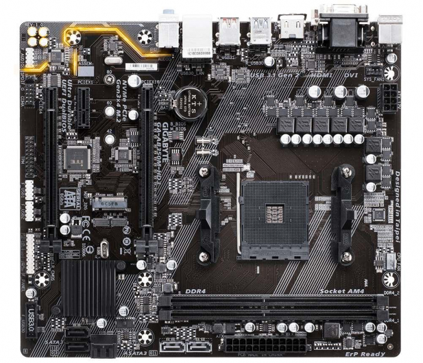 Gigabyte GA-AB350M-HD3 (2xPCI-E DDR4 USB 3.1/M.2) - 366634 - zdjęcie 3