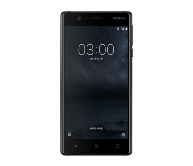 Nokia 3 Dual SIM czarny  - 357293 - zdjęcie 2