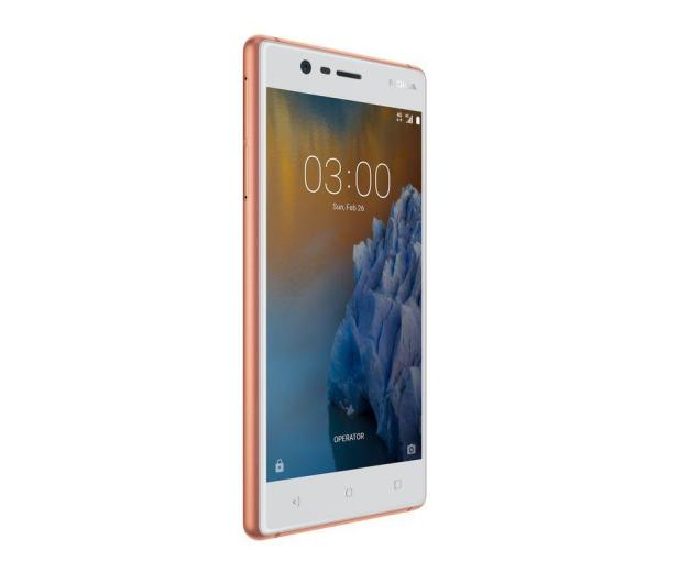 Nokia 3 Dual SIM miedziany biały - 357297 - zdjęcie 5