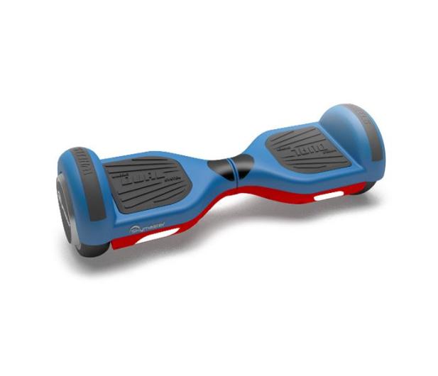 """Skymaster Wheels 6,5"""" Dual 2 koła niebiesko-czerwona - 367431 - zdjęcie"""