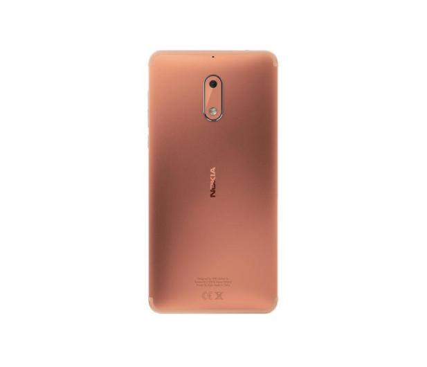 Nokia 6 Dual SIM miedziany - 357311 - zdjęcie 4