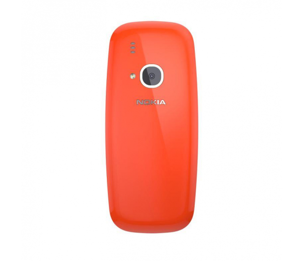 Nokia 3310 Dual SIM czerwony - 363001 - zdjęcie 3