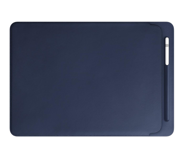 Apple Leather Sleeve do iPad Pro 12,9'' Midnight Blue - 369420 - zdjęcie 2