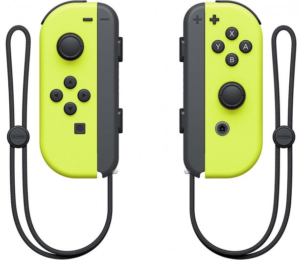 Nintendo Switch Joy-Con Controller - Neon Yellow (pair) - 369841 - zdjęcie