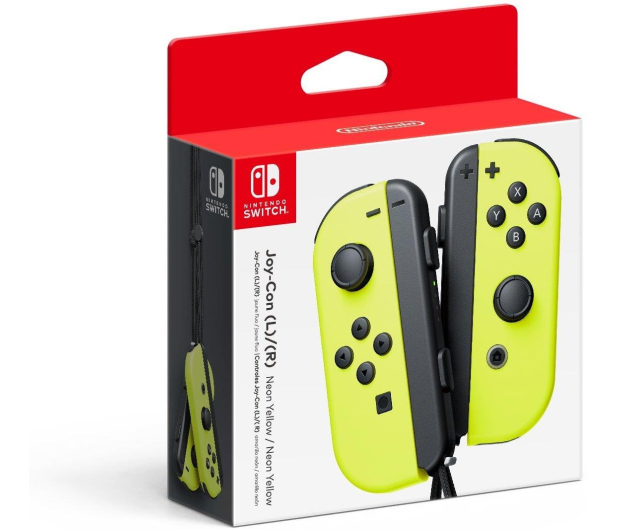 Nintendo Switch Joy-Con Controller - Neon Yellow (pair) - 369841 - zdjęcie 3