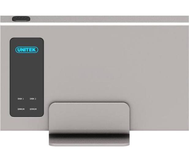 """Unitek Obudowa na 2x dysk 2.5"""" (USB 3.1, RAID) - 369897 - zdjęcie 2"""