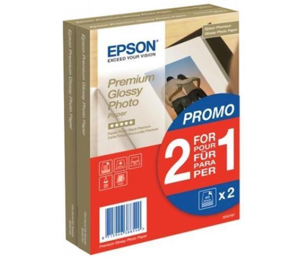 """Epson Premium Glossy Paper 10x15 cm (4x6"""") (2x40 ark.)  - 370096 - zdjęcie"""