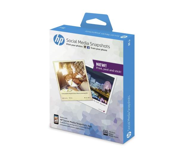 HP Social Media Snapshots 10x13cm (25 ark.) - 370357 - zdjęcie