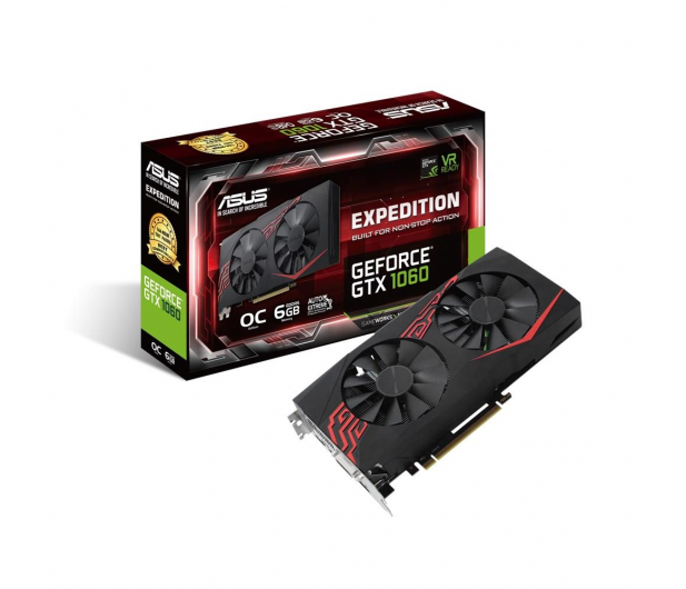 ASUS GeForce GTX 1060 Expedition OC 6GB GDDR5 - 370334 - zdjęcie