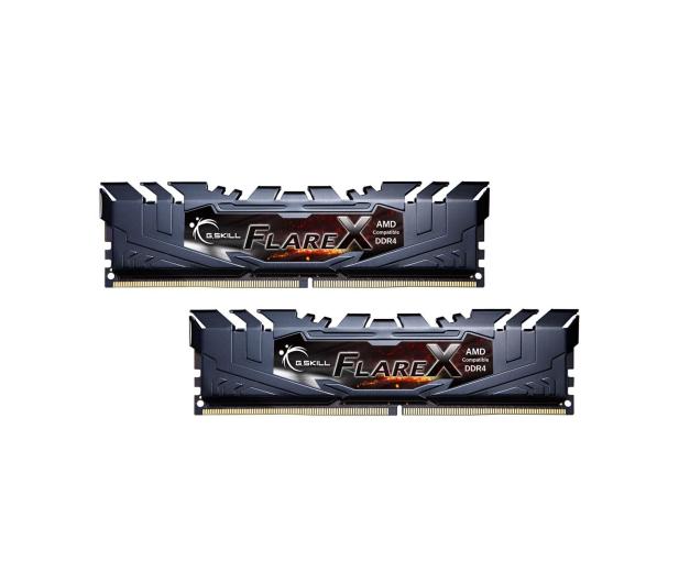 G.SKILL 32GB 2400MHz FlareX Black Ryzen CL15 (2x16GB) - 367953 - zdjęcie 3