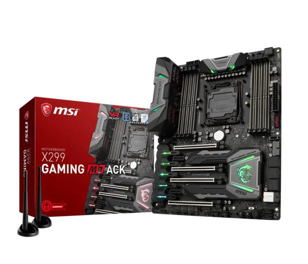 MSI X299 GAMING M7 ACK (DDR4) - 370799 - zdjęcie
