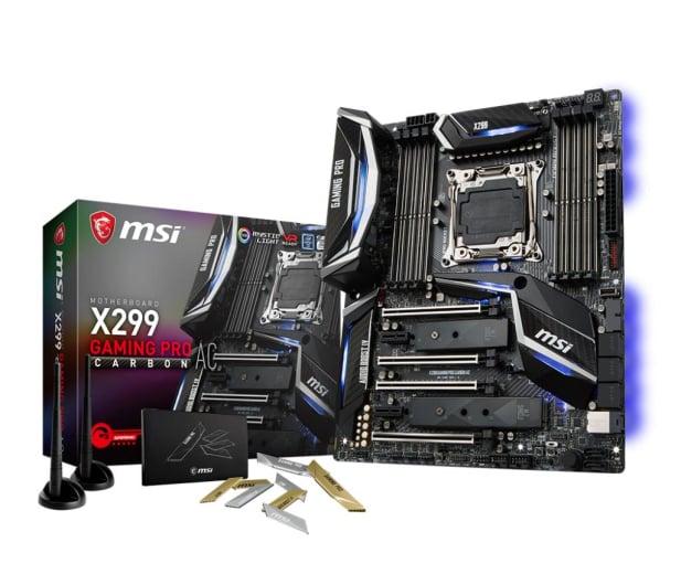MSI X299 GAMING PRO CARBON AC (DDR4) - 370801 - zdjęcie
