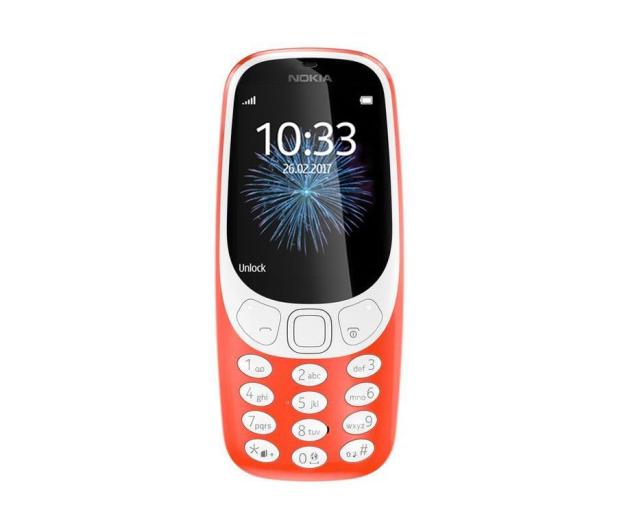 Nokia 3310 Dual SIM czerwony - 363001 - zdjęcie 2