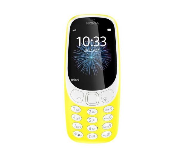 Nokia 3310 Dual SIM żółty 3G - 362997 - zdjęcie 2