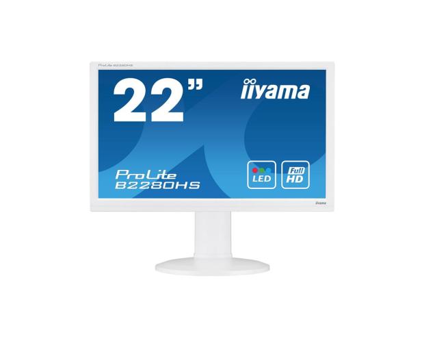 iiyama B2280HS biały - 225370 - zdjęcie