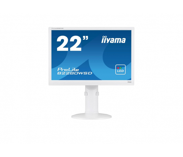 iiyama B2280WSD biały - 319639 - zdjęcie
