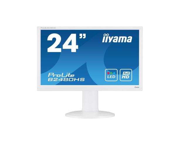 iiyama B2480HS biały  - 285630 - zdjęcie