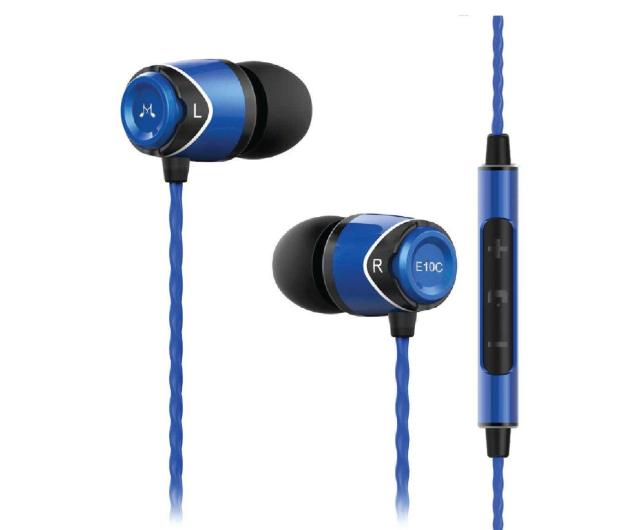 SoundMagic E10C Black-Blue - 370552 - zdjęcie 2
