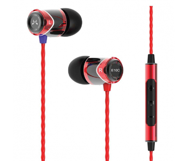 SoundMagic E10C Black-Red - 370556 - zdjęcie 3