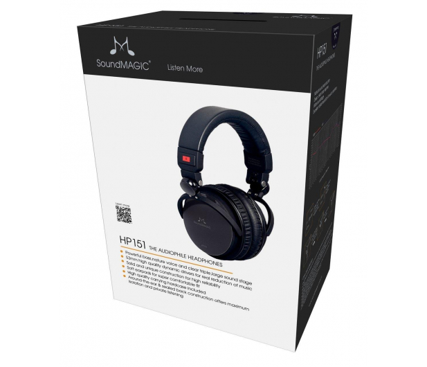 SoundMagic HP151 Czarne - 370627 - zdjęcie 2