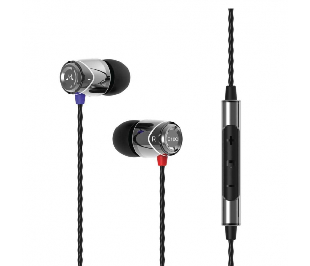 SoundMagic E10C Silver-Black - 370558 - zdjęcie 2