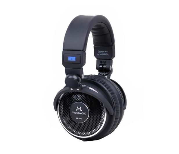 SoundMagic HP200 Czarne - 370631 - zdjęcie